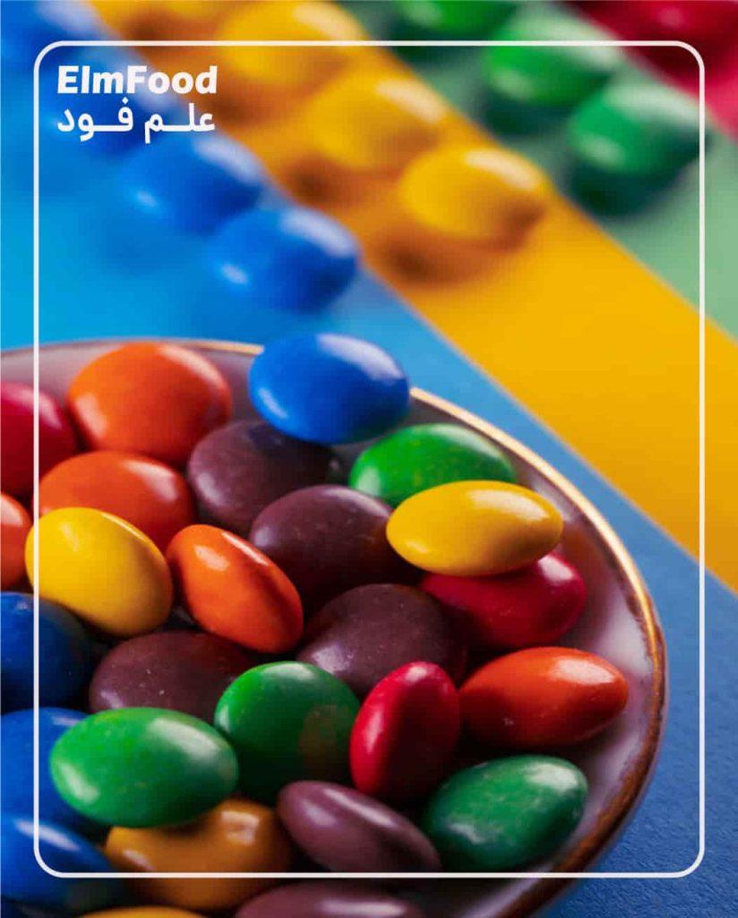رنگ های خوراکی در صنایع غذایی
