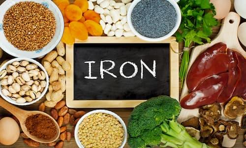 مواد غذایی سرشار از آهن | نقش آهن در بدن