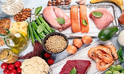 مواد غذایی سرشار از پروتئین | جدول پروتئین مواد غذایی