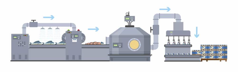 تولید کنسرو ماهی