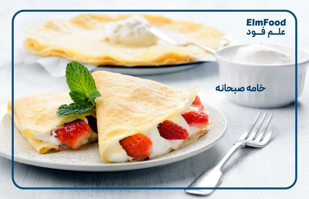 طرز تهیه خامه کم چرب و خامه صبحانه صنعتی