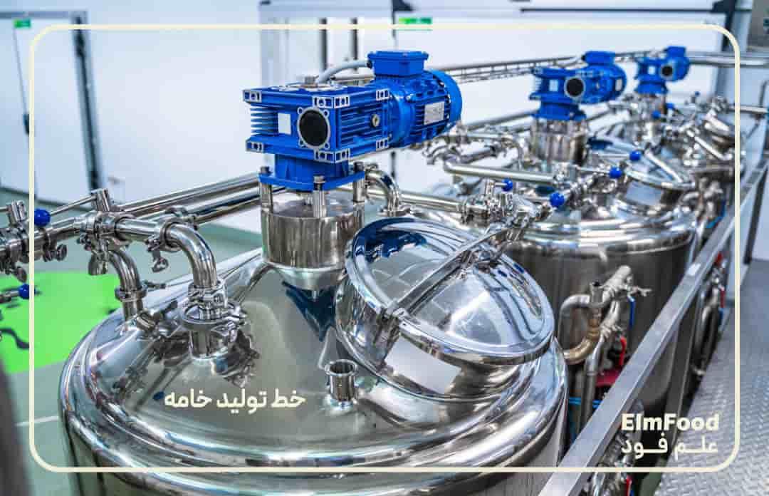 استاندارد کردن شیر در خط تولید خامه