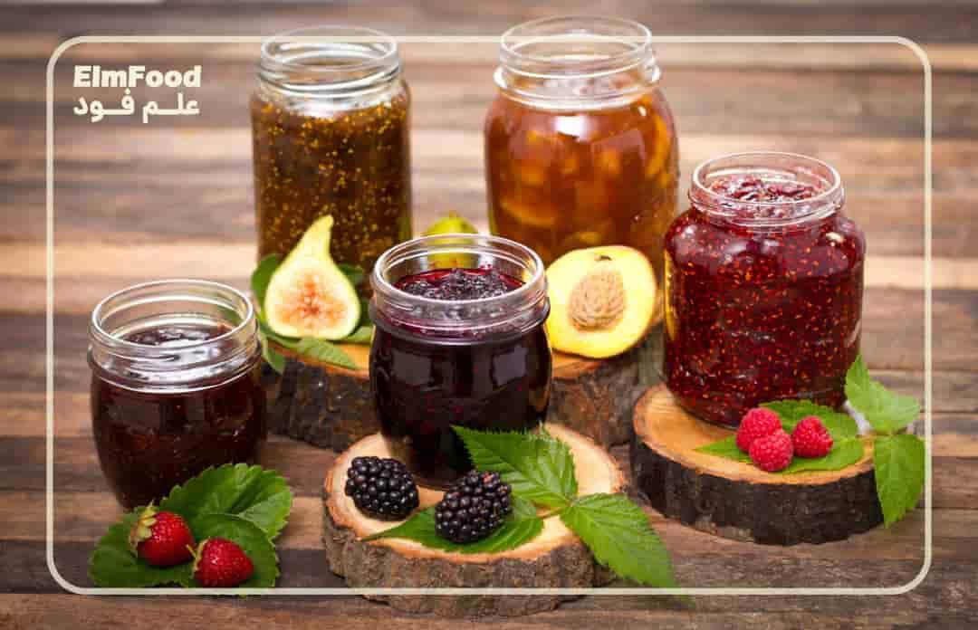 مواد اولیه لازم برای تولید مربای صنعتی در خط تولید مربا