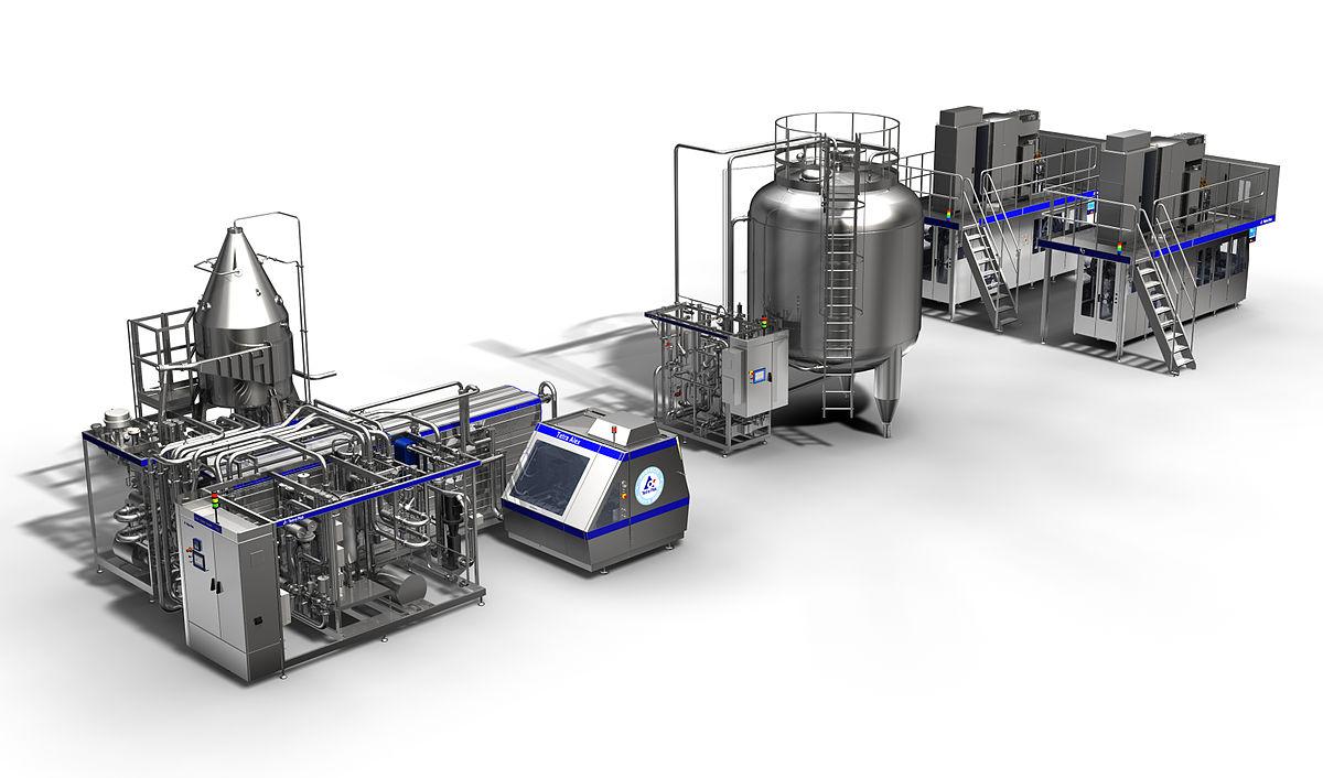 خط تولید شیر استریلیزه | استریلیزاسیون شیر