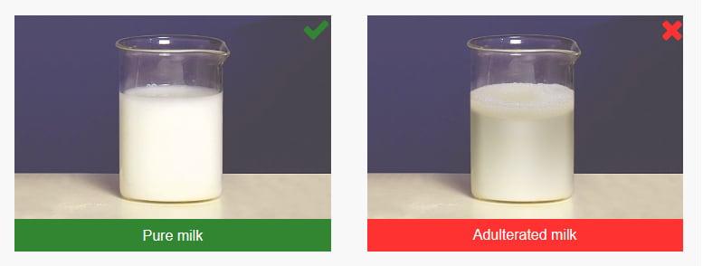 انواع تقلب در شیر و لبنیات