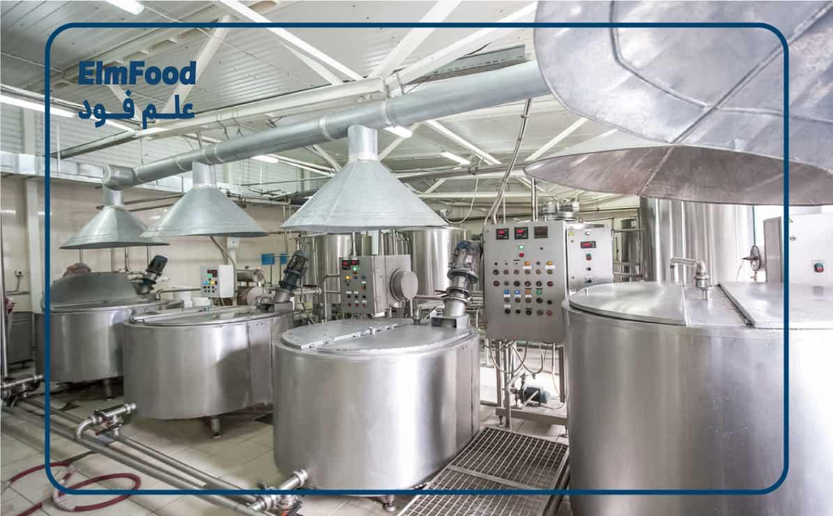 خط تولید شیر پاستوریزه  پاستوریزاسیون شیر