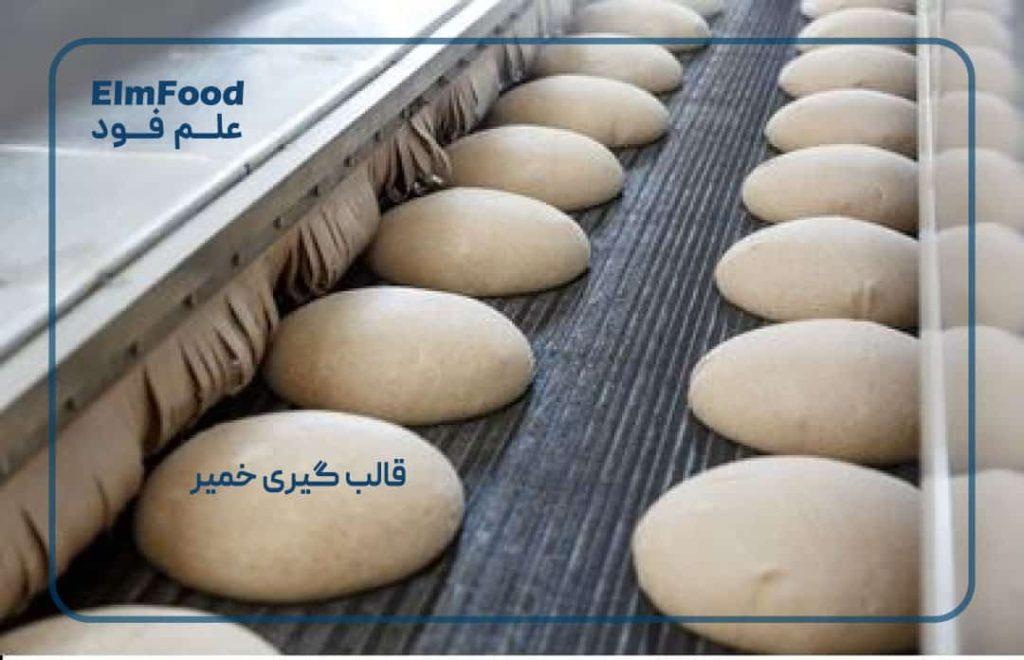 قالب گیری خمیر در تولید نان صنعتی