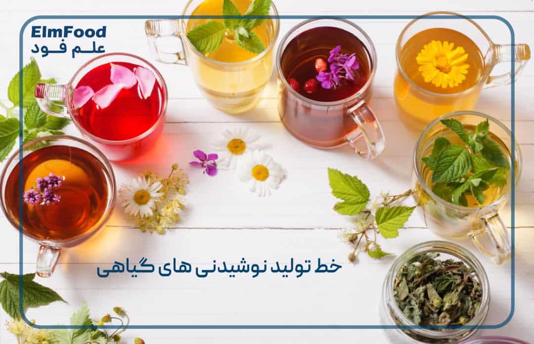 خط تولید نوشیدنی های گیاهی