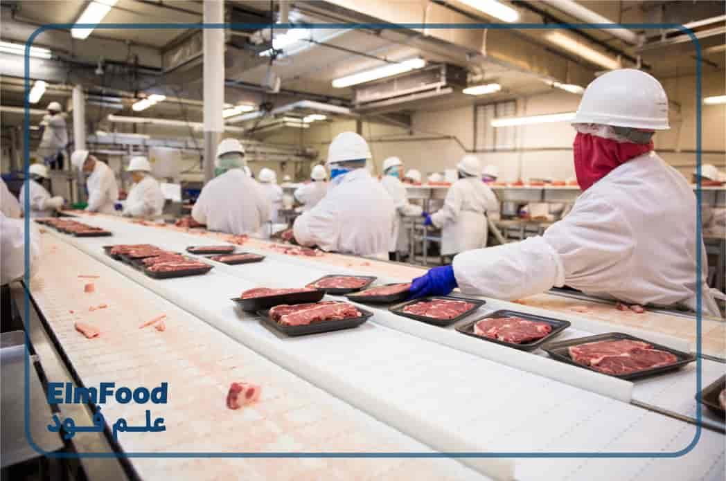 بسته بندی گوشت قرمر