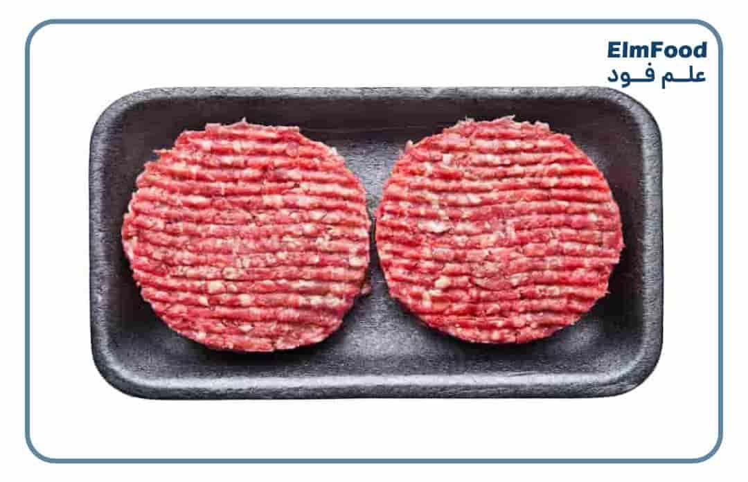بسته بندی همبرگر صنعتی